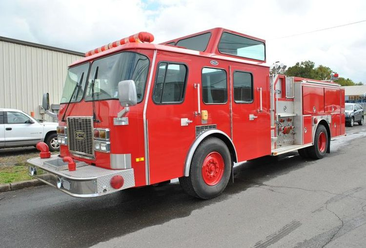 E-One Pumpers
