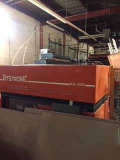 Bystronic Byjet 3015 CNC Abrasive Dual Head Water Jet Cutting System Bystronic CNC Control