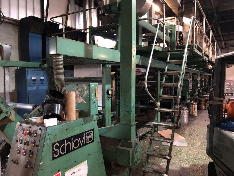 Schiavi Gravure Printing Machine 1100