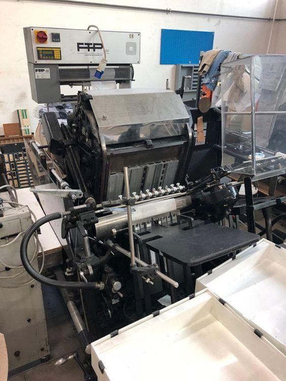 Heidelberg GT, Letterpress Platen 1 340x460 mm