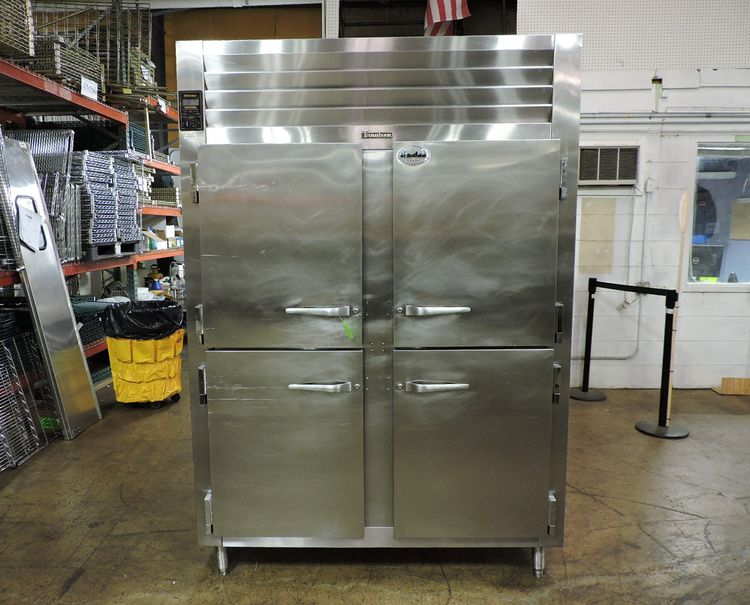 Traulsen AHT232WUT 2-Section Half Length Door Refrigerator