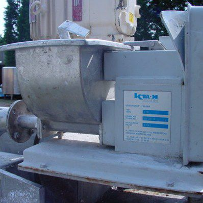 K-tron T-20 Twin Screw Feeder