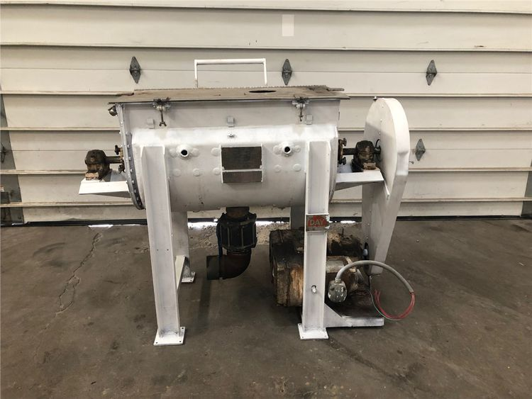 JH Day Stainless Steel Day Jacketed Ribbon Blender