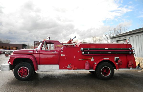 American Fire Apparatus Ford Pumper