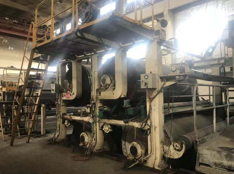 Chinese duplex coated board paper machine- stopped 2019, 10 years use only 3400 mm 120-400 gsm 400-500 tpd