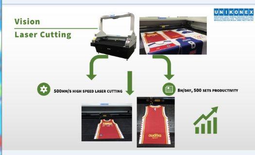500 sets sportswear laser cutting within 8h UL-VD180100