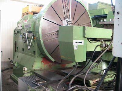 Wohlenberg CNC Sinumerik 810 T 900 rpm V 1000 - CNC 2 Axis