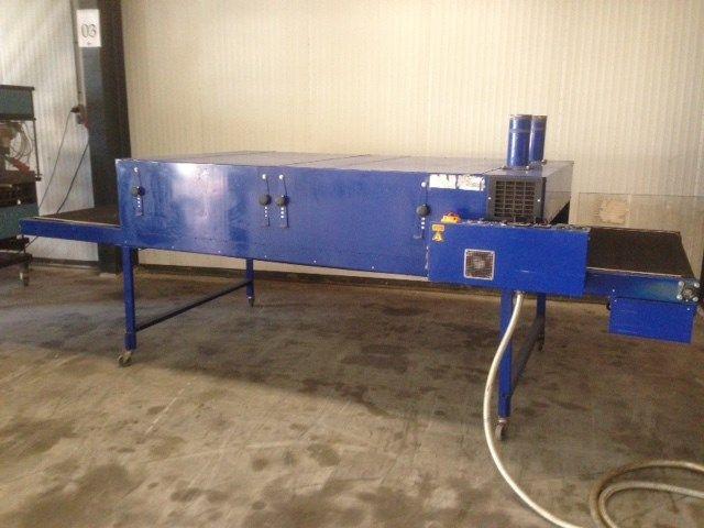 Silk screen printing dryer