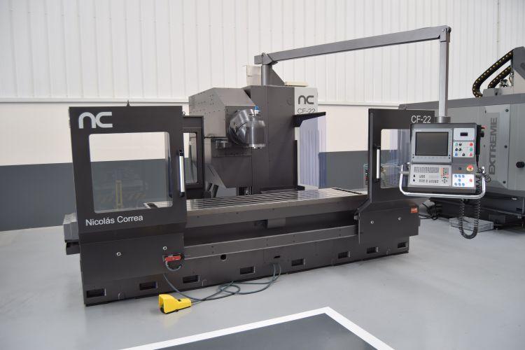 Nicolas Correa CF22/25 Plus UDG Bed Type Milling Machine