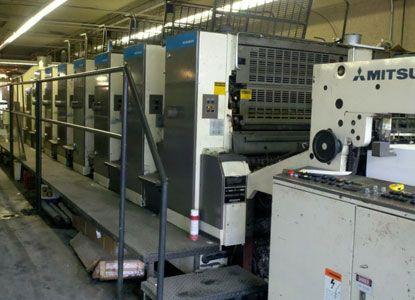 Heidelberg 3F -7 LX, 6 Colors Offset Machine