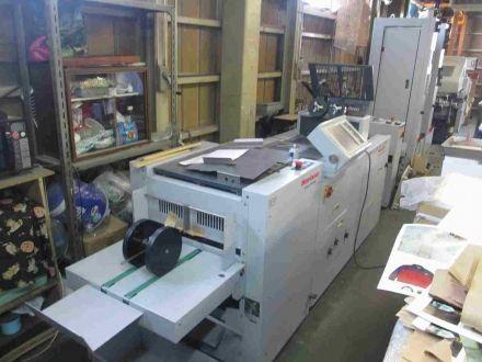 Horizon VAC-100a/m+SPF-200A+FC-200A Saddle stitching line