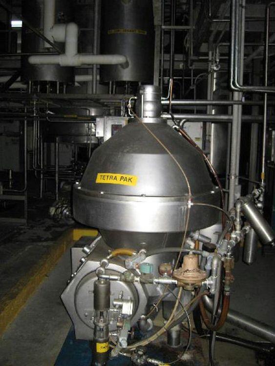 Alfa Laval, Tetrapak CRPX714-HGV 15,000 liter/hour Separator