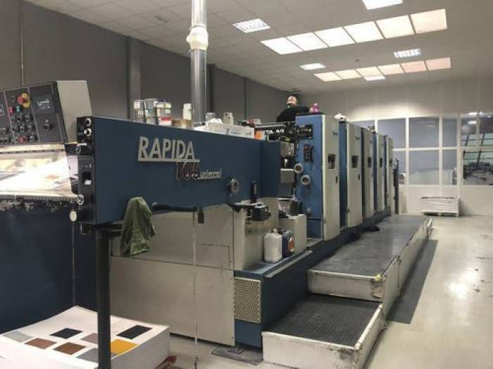 KBA Rapida 104-5 CX 5 104 x 72 cm (40 x 28 inch)