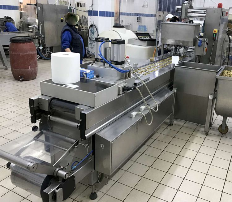 Multivac R 530 Thermoforming packaging machine