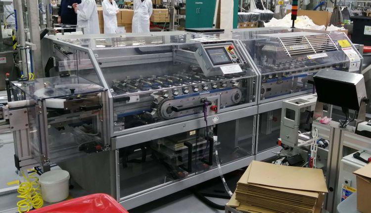 Sleever Internationnal LPK 130  HORIZONTAL SLEEVE WRAPPING MACHINE