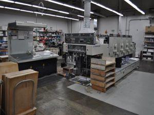 Komori Lithrone 428, Offset 4 Colours Press Machine 20 x 28