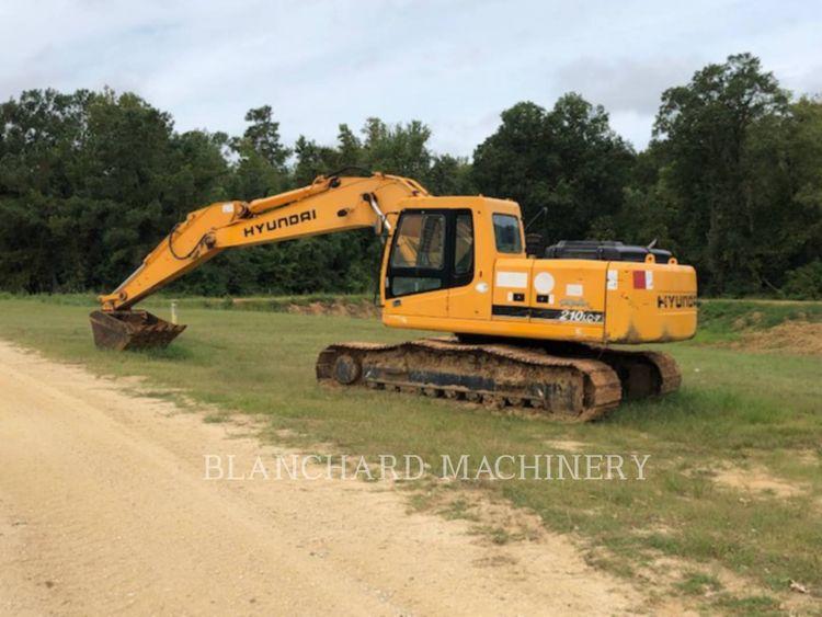 Hyundai 210LC Excavator