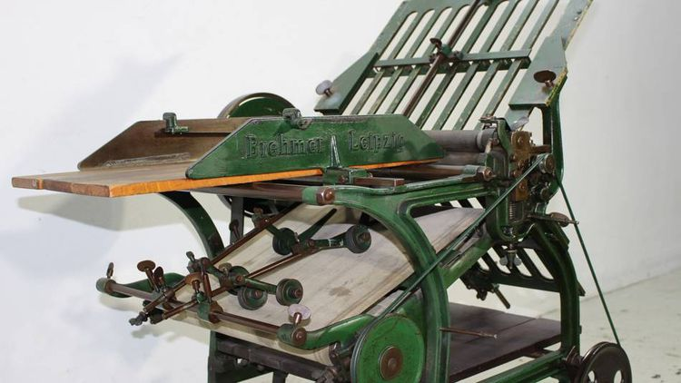 Brehmer Folding machine