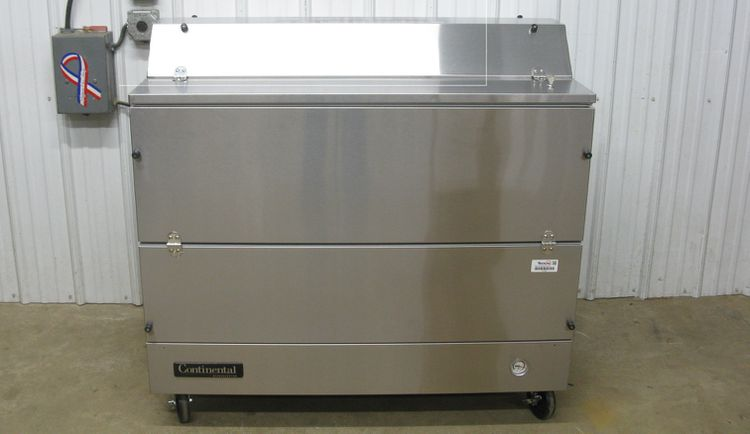 Continental MC4-SS-D Refrigerator