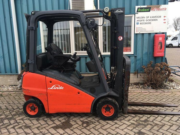 Linde H18T FORKLIFT 1800KG GAS 1800KG