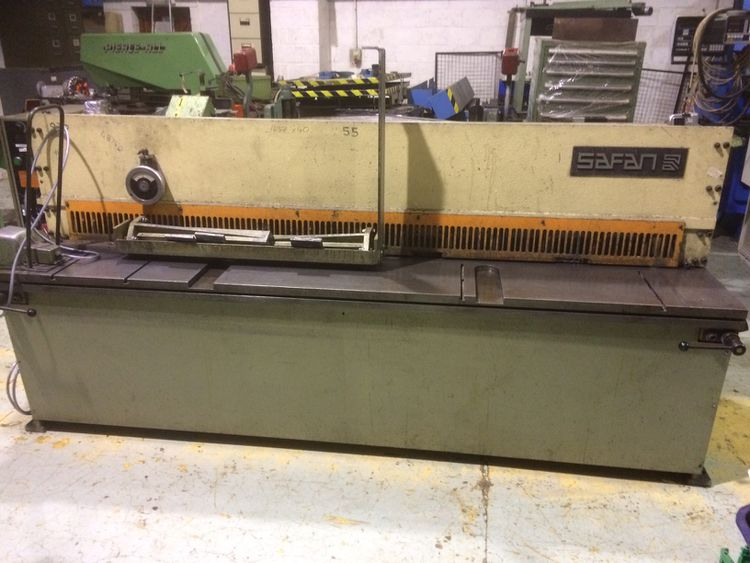 Safan VS 255-4 Hydraulic Shear