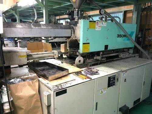Mitsubishi Injection Molding Machine 350 T