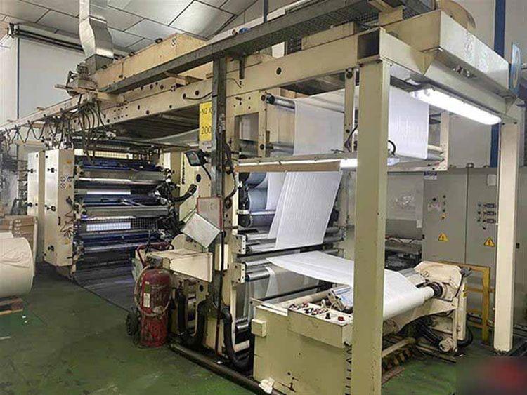 Carint CARRARO 996 MOD160, Flexo stack printing machine 6 1400 mm