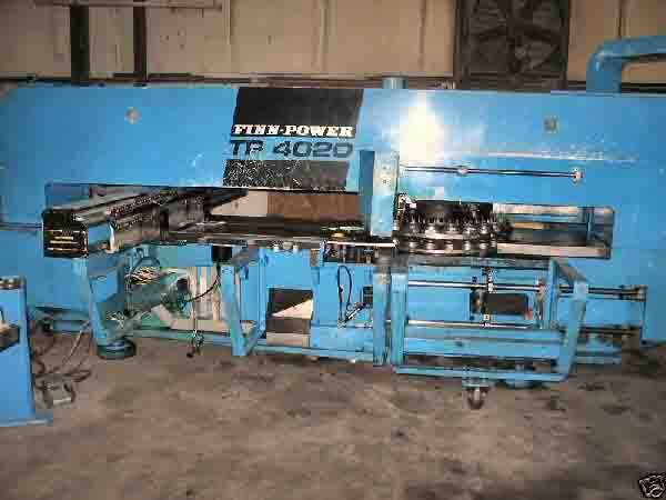 Finn Power TP 4020, Hydraulic Turret Punch Machine Max. 33 Ton