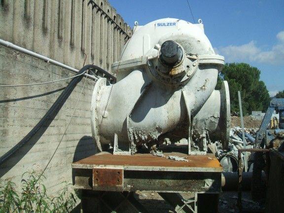 Sulzer 60.000 l/mn Fan pump