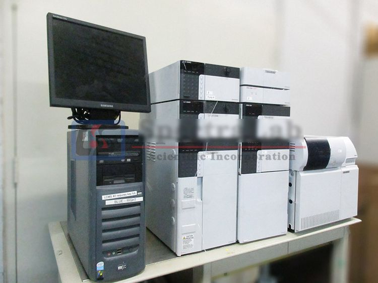 Shimadzu LCMS-2010EV liquid chromatographic detection