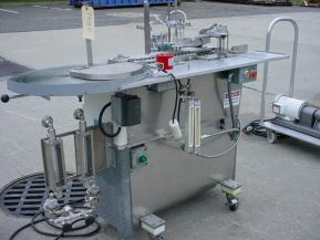 FPS-2, DUAL PISTON AUTOMATIC AMPULE FILLING AND SEALING MACHINE