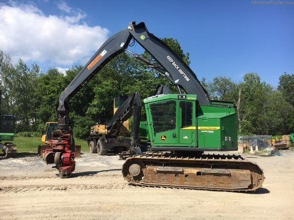 John Deere Forestry Tracked Harvesters