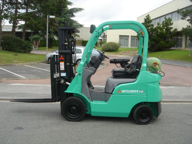 Mitsubishi FG18N LP Gas Forklift 1,800 kg