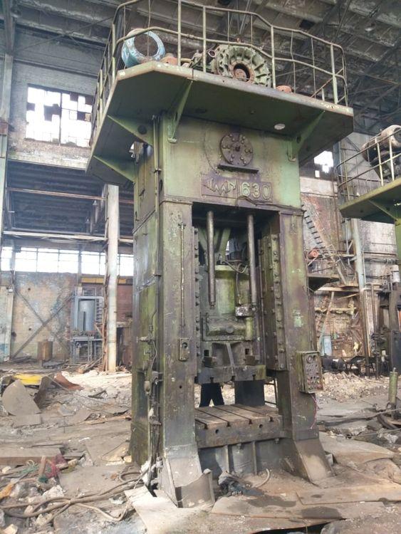 TMP, Voronezh Trimming press K9538 630 ton