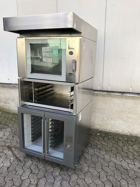 Wiesheu B4 shop baking oven with Proofer