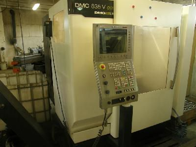 DMG DMC 635V eco 3 Axis, Vertical Machine Center