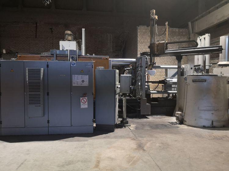 Mueller-Weingarten GDK 850 Aluminium high pressure die casting