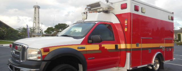 Ford F-450, Fire Rescue Ambulance