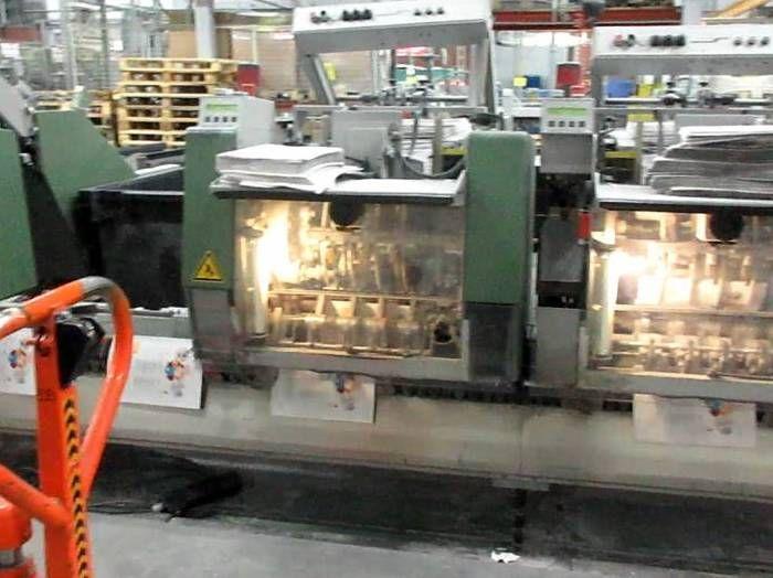 MULLER MARTINI Prima Amrys Saddle Stitching machine