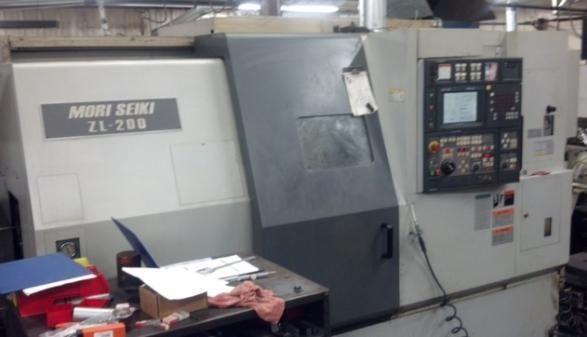 Mori Seiki Mori Seiki MSC501 Fanuc CNC Control 4000 rpm ZL-200SMC 4 Axis