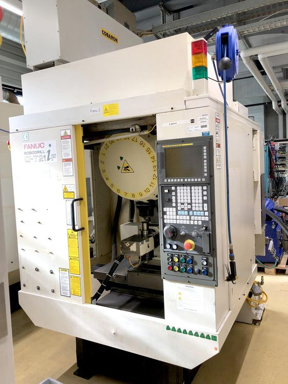 Fanuc a-21iF 4th & 5th Axis