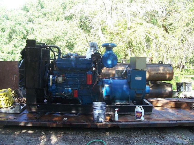 Cummins NTTA855-G1 Used Generator set 300