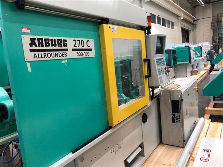 Arburg 270 C 500-100 50 T