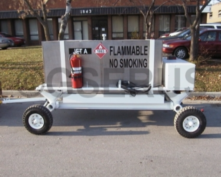 Jetall JTL270FC Fuelling hose and nozzle