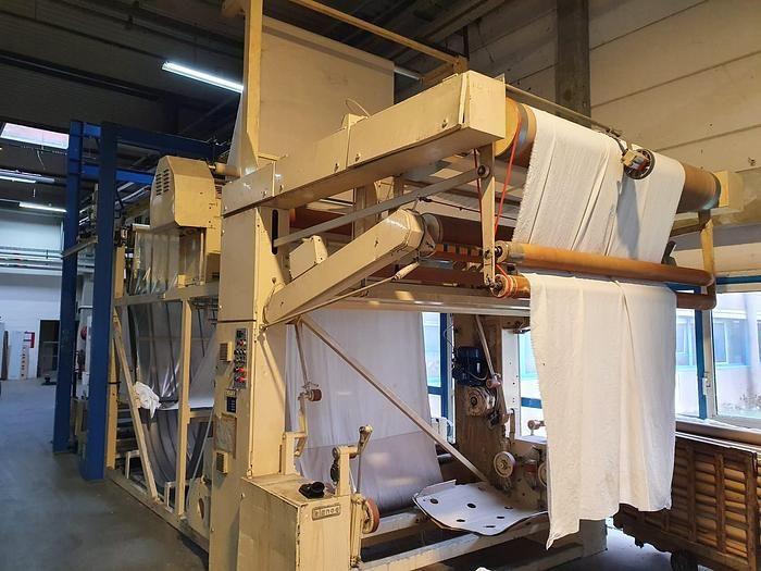 Bianco preparing fabric machine