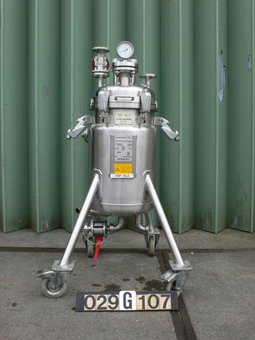 KHS RADIUM RZ-30 - Platen filter