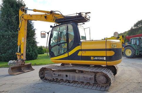 JCB JS130 Excavator