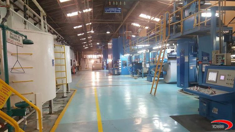 BHS Corrugator Board Lines and Components 2500 mm