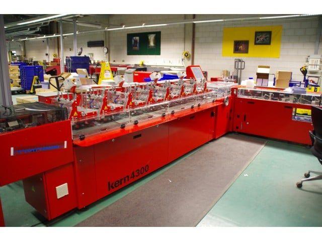 Buhrs, Kern 4300 BB300 envelope inserter mailing machine