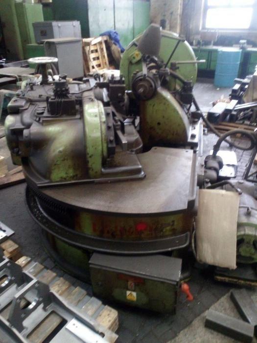 Gleason Variable Works Sloping Gear Machine